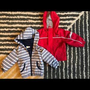 Two light jackets - Oshkosh crazy8